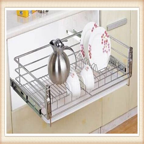 iso factory kitchen pull out basket stainless steel