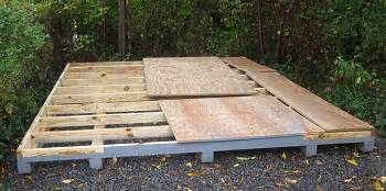 kehed access arrow shed floors