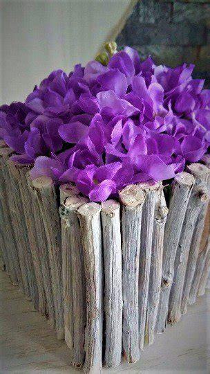 fiori in legno porta fiori in legno per la casa e per te decorare