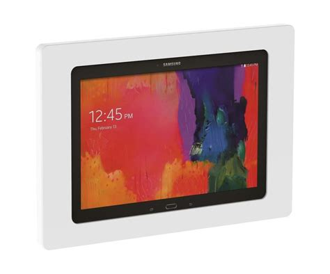 tablet wall mount diy samsung galaxy tab pro 12 2 white on wall tablet mount