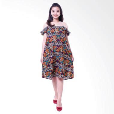 Supplier Baju Ranaya Etnik Dress Hq jual baju modern dress menyusui bolero batik etnik sabrina cantik orange harga