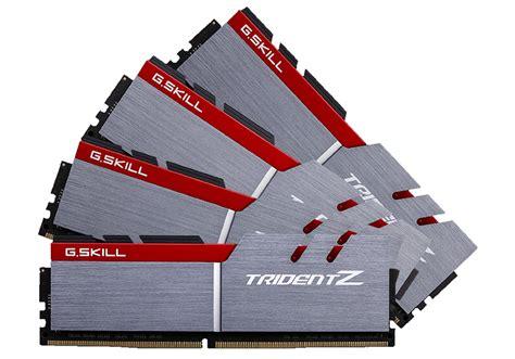 review g skill trident z 32gb ddr4 3200 f4 3200c14q 32gtz ram hexus net