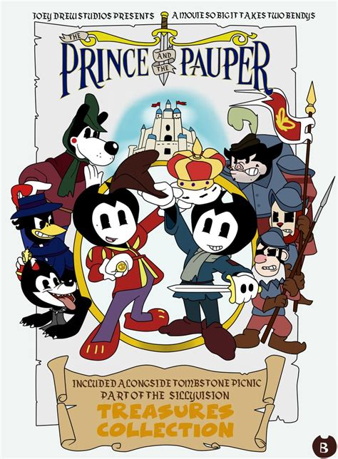 the prince and the pauper part 2 bendy in the prince and the pauper by gamerboy123456 on