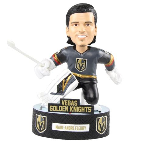 bobblehead of fame bobblehead of fame unveils marc andre fluery bobblehead