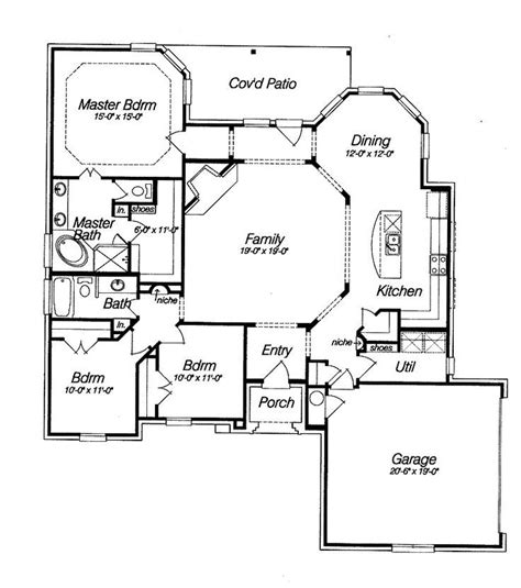 house open floor plans spacious open floor plan house plans with the cozy