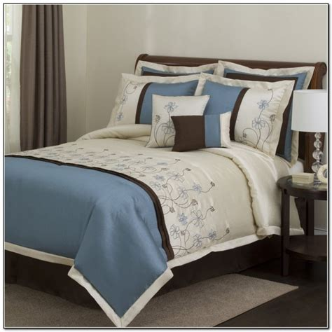 brown and blue comforter sets brown and blue bedding collections beds home design