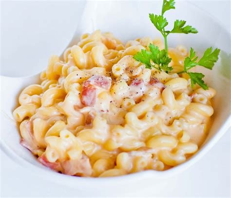 gourmet mac and cheese recipe gourmet macaroni and cheese with bacon and garlic