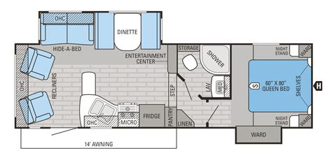 jayco fifth wheel floor plans 2016 eagle ht fifth wheel floorplans prices jayco inc