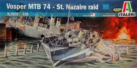 radio controlled mtb boats italeri vosper mtb 74 st nazaire raid edition hobbies