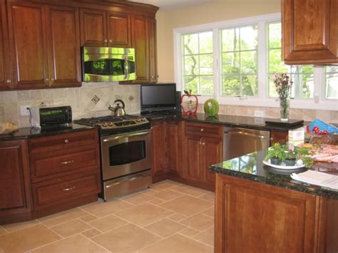 Granite Countertop Colors For Cherry Cabinets by Granite Countertop Colors For Cherry Cabinets Great
