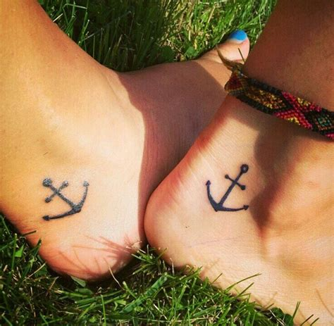 meaning of anchor tattoo for couples matching anchor tattoos designs ideas and meaning
