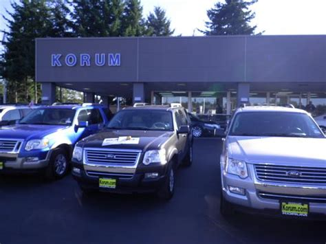 ford dealer olympia auto mall used vehicles korum automotive puyallup wa ford