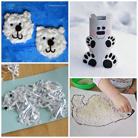 winter craft projects winter polar crafts for to make crafty morning