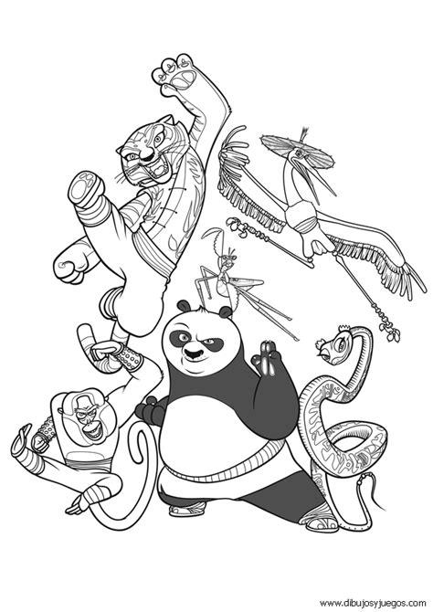 Lujoso Kung Fu Panda Colorear Páginas Grúa Regalo - Páginas Para ...