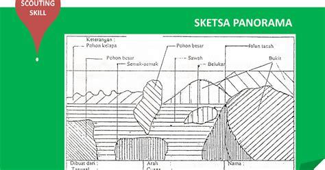 ensiklopedia pramuk sketsa panorama scouting skill