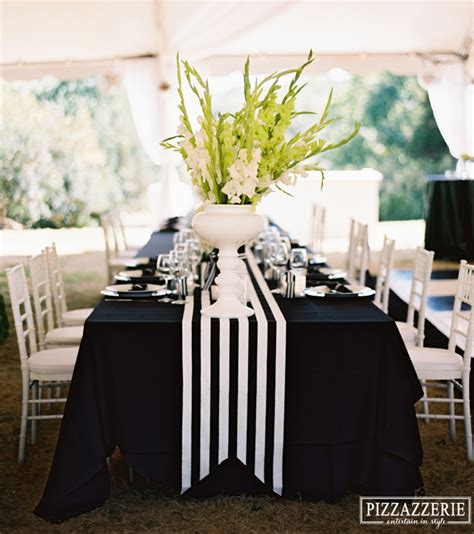 Fiesta Awning My Black And White Striped Wedding Pizzazzerie