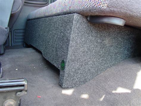 Window Box Seat With Storage - subwoofer box dodge ram extended cab