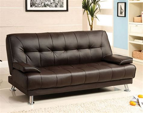 Futon With Armrest by Beaumont Futon Sofa