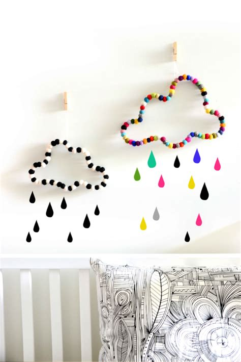 Hanging Nursery Decor Cloud Wall Decor Nursery Decor Room By Stefcollections
