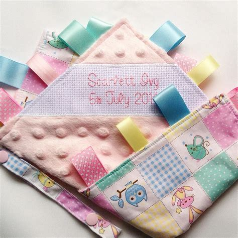 Handmade Baby Items That Sell - patchwork owls handmade baby security blanket a