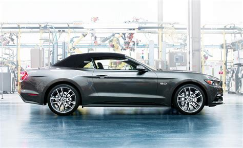 2015 Ford Mustang Gt Convertible by Car And Driver