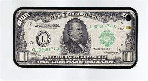 1000 one thousand dollar bill money phone for iphone 6s 6 plus 5c 5s 5 4s ebay