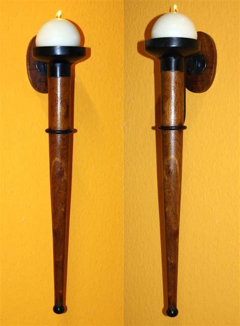 kerzen wandhalter holz mittelalterlicher wandkerzenhalter antik mittelalter
