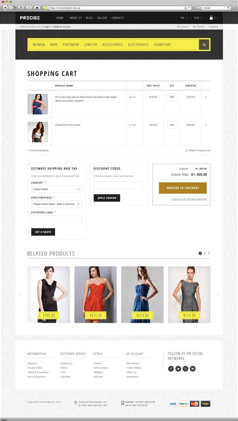 magento shopping cart template precise multipurpose responsive magento theme by wpway