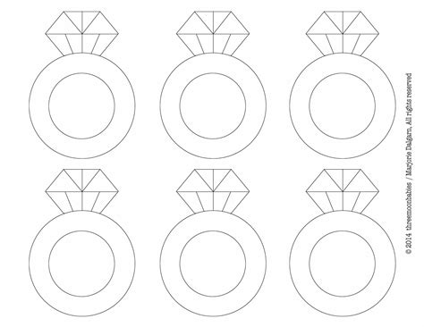 wedding ring templates free living with threemoonbabies january 2014