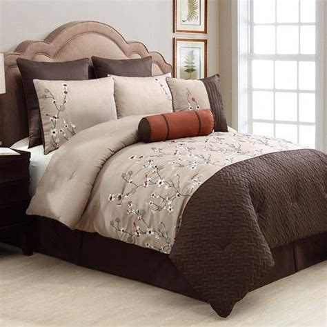 anna linens bedding sadie 8 piece chocolate comforter set 200 00 anna s