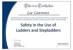 Health And Safety Certificate Template by Health And Safety February 2005