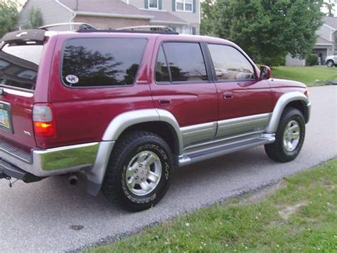 toyota 4runner with 3rd row seating for sale purchase used 98 toyota 4runner limited w leather sunroof