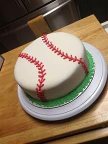 baseball cake fondant baseball birthdaycake sweets by shelby pinterest birthdays boys