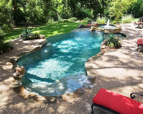 Designing Backyard Building A Tropical Lagoon Style Pool Riverbend Sandler