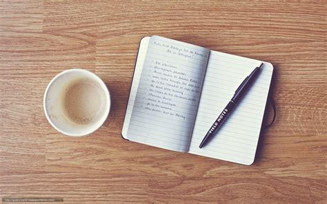 coffee writing wallpaper tlcharger fond d ecran stylo caf cahier enregistrement