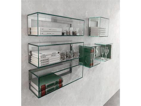 mensole cristallo mensola in vetro
