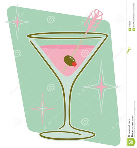retro martini retro martini stock images image 5286354