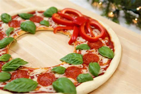 christmas pizza 3 easy pizza recipes from rosanna pansino
