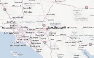 san bernardino county california map san bernardino location guide