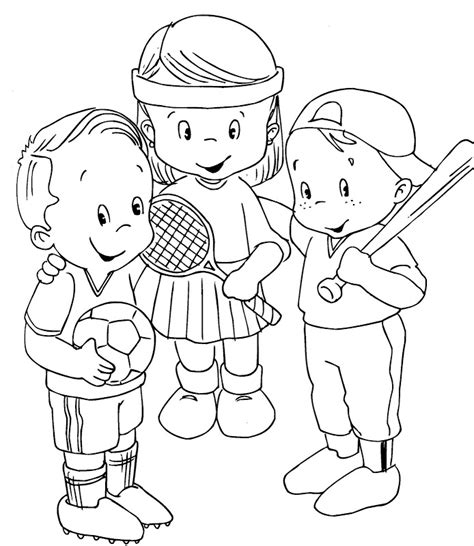 Sports Coloring Pages For Kids Az Coloring Pages Sports Coloring Page