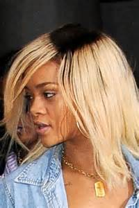 pics of darker hair roots rihanna debuts unusual new dark roots hairstyle marie claire