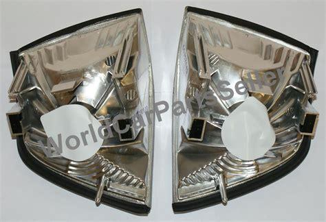 Corner L Bmw 3 Series E36 1991 1998 Clear Merk Depo 1991 1998 bmw 3 series e36 4 door sedan corner lights depo clear pair ebay