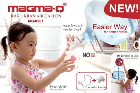 Rak Galon Air Minum Kran Magma Q magma q magma q rak kran air galon coating decoco