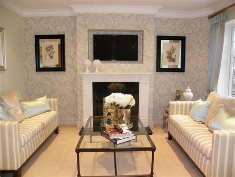 fresh wall wallpaper living room home decor ideas