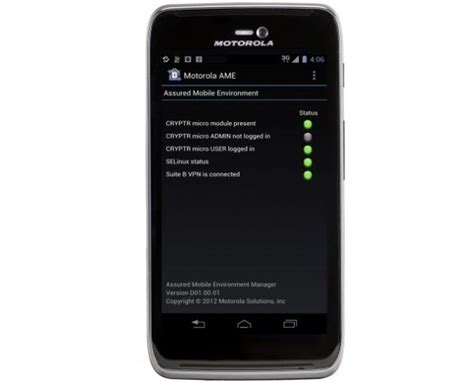 motorola mobile android motorola ame 2000 secure mobile solution for federal