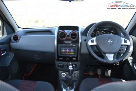 Car Interior Duster by Significant Changes In New Renault Duster Gaadiwaadi
