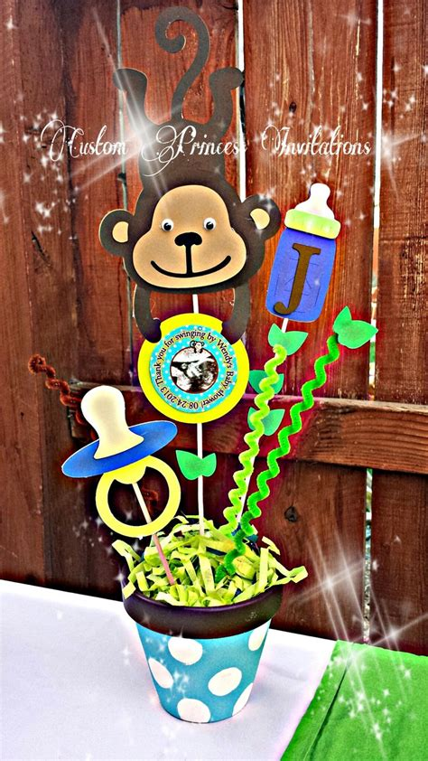 Monkey Boy Baby Shower Decorations by Monkey Baby Shower Theme Baby Shower Baby