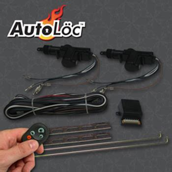 Mustang Auto Lock by Mustang Two Door Remote Central Lock Kit Mustangs Plus