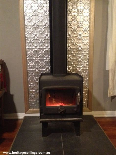 mumford fireplace easy idea for a fireplace surround use pressed tin