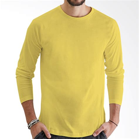 Kaos O Neck Lengan Panjang by Jual Kaosyes Kaos Polos T Shirt O Neck Lengan Panjang